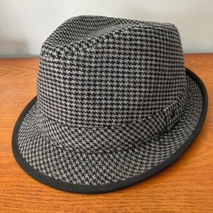 Men's Stetson Grey/Black Fedora